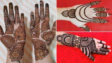 Eid Mehendi Designs 2021: Create beautiful mehndi in Eid-ul-Fitr in your hands, see latest designs in video