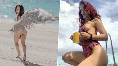 Elli Avram Bold Photos: Bollywood actress Elli Avram created a sensation in bold clothes, fans of hotness