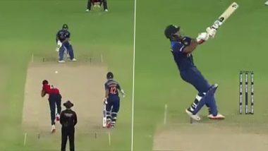 Ind vs Eng 1st T20 2021: जोफ्रा आर्चर की खतनाक गेंद पर ऋषभ पंत ने लगाया दिलेर छक्का, वीडियो देखकर आप भी रह जाएंगे हैरान