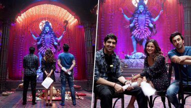 Ranbir Kapoor and Alia Bhatt took the blessings of Maa Kali, this amazing picture from the set of 'Brahmastra'