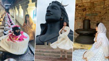 Mahashivratri पर भक्ति-भाव में डूबी नजर आईं नागिन एक्ट्रेस Mouni Roy, भगवान शंकर की पूजा करती आई नजर, देखें Photos