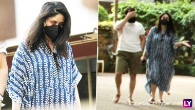 दूसरे बेटे के जन्म के बाद पहली बार कैमरे के सामने नजर आई Kareena Kapoor Khan, तस्वीरों में दिखा गजब का टशन