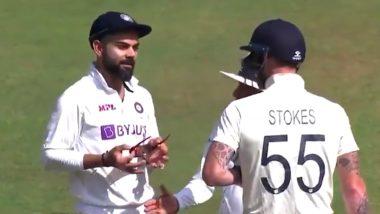 Ind vs Eng 4th Test Day 1: बीच मैदान में भिड़ें Ben Stokes और Virat Kohli, मैदानी अंपायरों ने सुलझाया मामला, देखें वीडियो