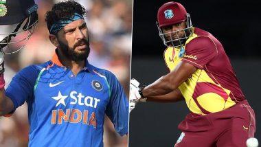 Kieron Pollard hit six sixes in T20 cricket, Yuvraj Singh congratulated in this way