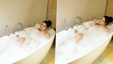 Zareen Khan Bathtub Photo: जरीन खान ने बाथटब में लेटकर पोस्ट की बेहद Bold Photo, हॉटनेस देखकर फैंस ने किये ऐसे कमेंट्स