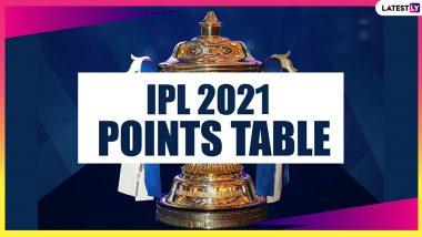 IPL 2021 Points Table Updated: SRH vs RCB मैच के बाद यह रही आईपीएल 2021 की लेटेस्ट पॉइंट्स टेबल