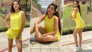 Monalisa Hot Photos: Bhojpuri actress Monalisa showed her glamorous avatar in western look, shared a heart-wrenching photo