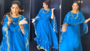 Sapna Choudhary performed a dance, fun video on Gungru Tut Jayega song