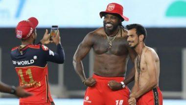 IPL 2021: पंजाब वर्सेज बैंगलौर मैच के बाद Chris Gayle और Yuzvendra Chahal ने कराया फोटोशूट, तस्वीर देखने के बाद हंसने पर मजबूर हो जाएंगे आप