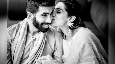 Jasprit Bumrah ने अपनी वाइफSanjana Ganesan के जन्मदिन पर रोमांटिक फोटो पोस्ट कर दी बधाई