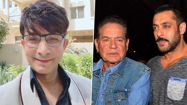 Salman Khan vs KRK: Afraid of court case, KRK asked for help from Salim Khan, said- Case does, will delete video