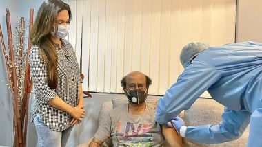 Rajinikanth got second dose of COVID-19 vaccine at his home?  Know the truth