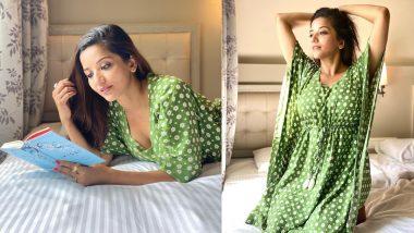Monalisa Hot Photos: Bhojpuri Heroine Monalisa shares the photo while reading the book in hot style, Viral Hua Katilana look