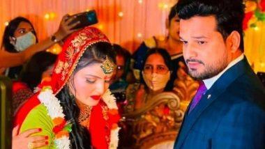 Bhojpuri superstar Ritesh Pandey engaged, know who his fiancee Vaishali Pandey is
