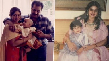 Janhvi Kapoor misses Sridevi on Mother's Day, share these memorable pictures of childhood