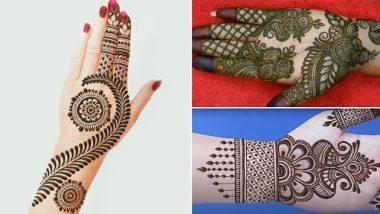 Eid al-Fitr 2021 Arabic Mehndi Designs: Create beautiful and easy Arabic mehndi designs in hands on Eid al-Fitr, see tutorials
