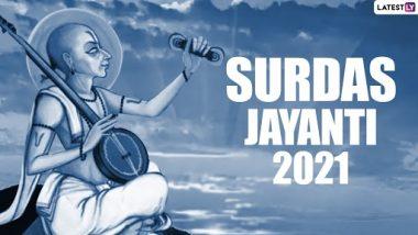Surdas jayanti 2021 Greetings: congratulations on poet Surdas Jayanti by sending this Hindi message through WhatsApp Stickers, Facebook Greetings