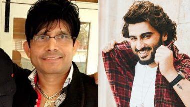 After Govinda, KRK named Arjun Kapoor as the real man of Bollywood