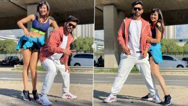 Khatron Ke Khiladi 11: Shweta Tiwari ने स्पोर्ट्स ब्रा पहनकरRahul Vaidya संग पोस्ट की Hot Photos