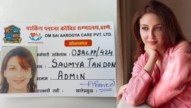 Bhabiji Ghar Par Hain's Saumya Tandon accused of getting vaccine through fake ID, actress gave this clarification