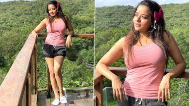 Monalisa Hot Photos: भोजपुरी एक्ट्रेस मोनालिसा ने बारिश के मौसम में ढाया कहर, हॉट ड्रेस में लुक हुआ वायरल