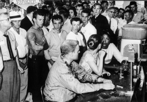 "Fred Blackwell, ""Jackson Mississippi Sit-In May 28, 1963"""