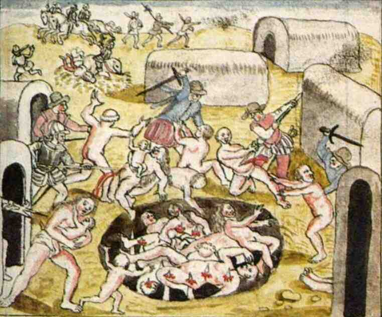Who were more brutalsavage The Aztecs or the Conquistadores