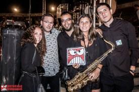 Alberto García Celtas Cortos) y miembros de la Banda Municipal de Música de El Espinar (2016) (by Josechu Egido)