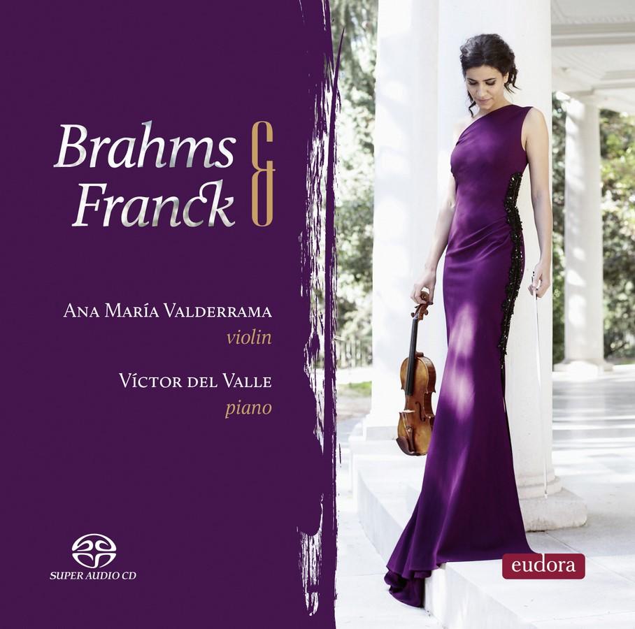 Ana María Valderrama & Victor del Valle - Brahms y Franck (2018)
