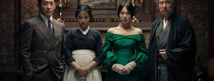 Photo officielle du film The Handmaiden avec les quatres personnages principaux