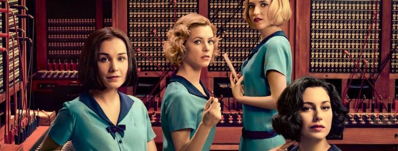 photo officielle de la série télévisée Les filles du cable