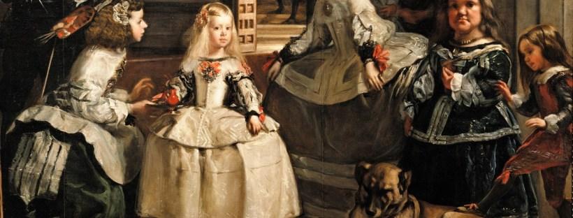 gros plan sur une partie du célèbre tableau de Velazquez intitulé Las Meninas