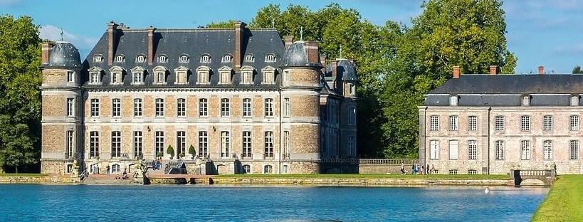 photo du château de Beloeil en Belgique