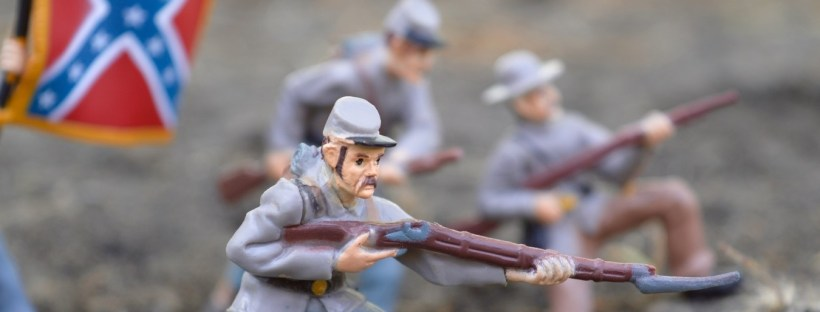 photo d'une figure représentant un soldat de l'union lors de la guerre civile américaine