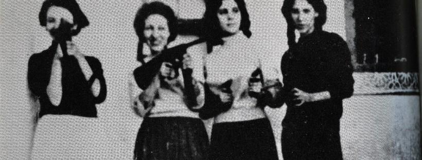 photo de femmes algériennes habillées à l'occidentale dans les années 1950
