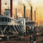 La Rumeur du fleuve, ou comment l'arrivée des bateaux à vapeur marque la fin d'une époque