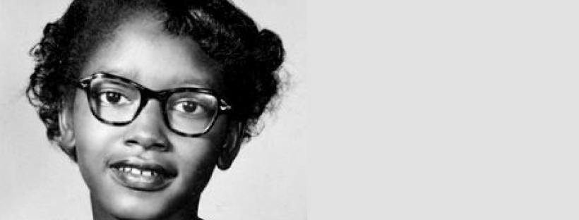 Photographie-portrait de Claudette Colvin en 1953