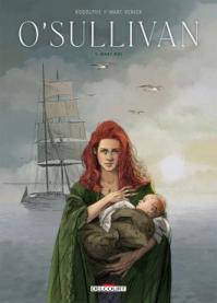 Couverture du tome 1 de la BD O'Sullivan (Delcourt, 2021)