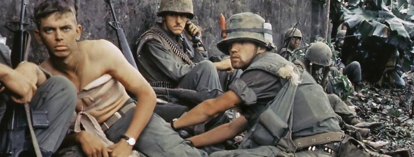 photo de soldats américains pendant la guerre du Vietnam