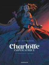 """Couverture de la BD """"Charlotte impératrice"""" (Dargaud, 2018)"""