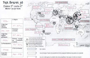 corection test 561