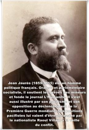 Jean Jaurès (1859-1914) Entre tardivement dans l'affaire Dreyfus qu'il juge d'abord sévèrement sous l'angle de la lutte des classes. Puis le procès Esterhazy le révolte et il agit de manière déterminante en faveur jusqu'à la réhabilitation d'Alfred Dreyfus, notamment par un discours de deux jours à la Chambre en 1903. Cet engagement amène le gouvernement à saisir une dernière fois la Cour de cassation qui innocente Alfred Dreyfus en 1906.
