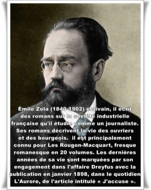 Portrait de Emile Zola (1840-1902) ecrivain francais. ©Costa/Leemage