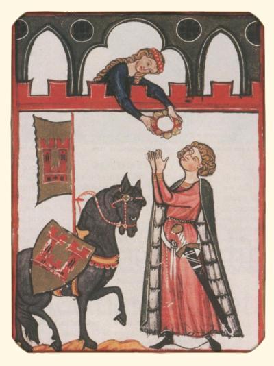 L'amour Courtois Au Moyen Age : l'amour, courtois, moyen, L'amour, Courtois