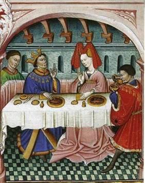 La Nourriture Au Moyen Age : nourriture, moyen, Repas,, Banquets, Nourriture, Moyen