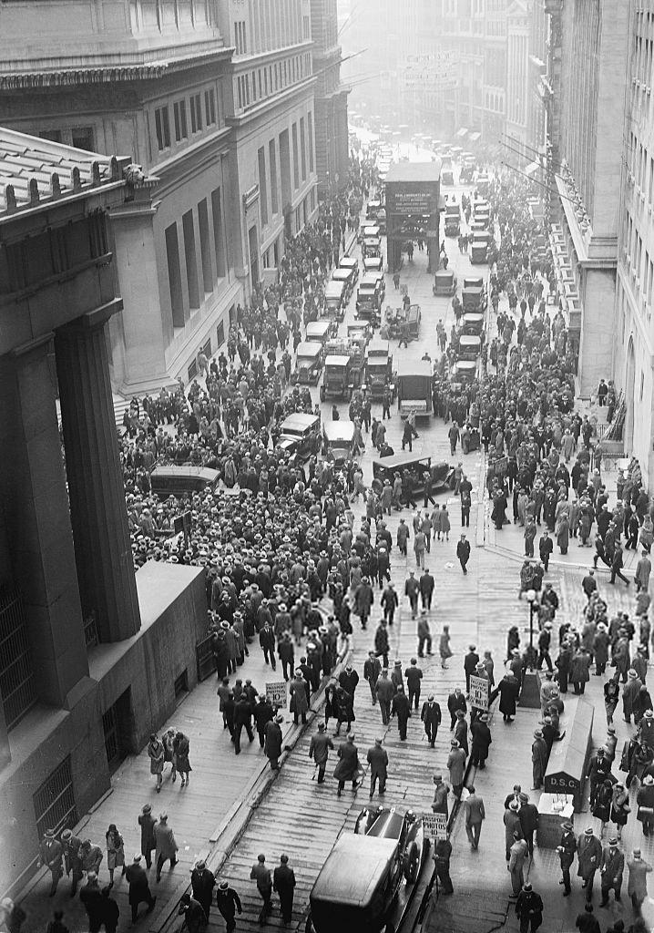 Krach 1929 New York