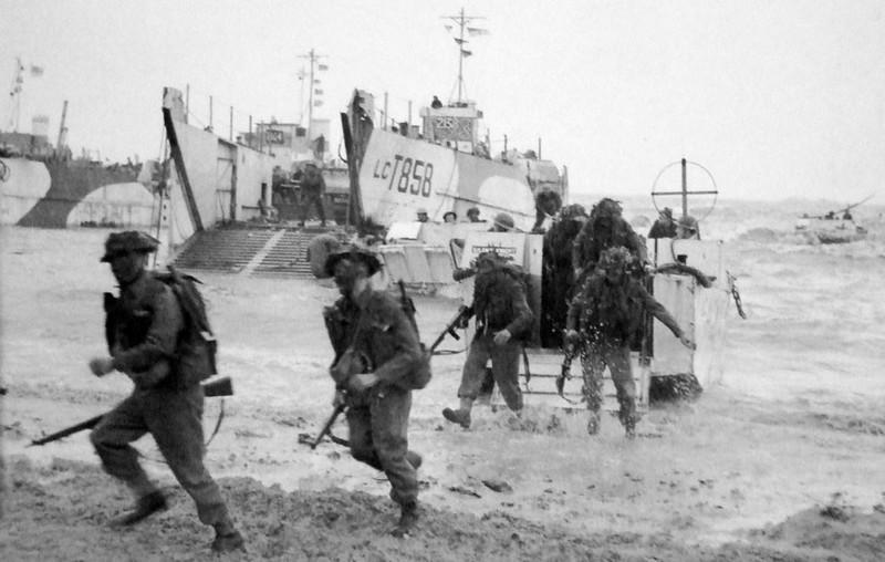 Gold Beach 6 juin 1944 Normandie débarquement