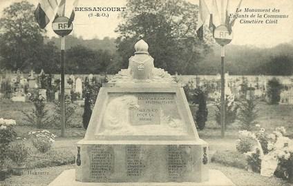 Monument des enfants de la commune Bessancourt - A. Marin