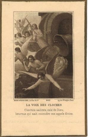 Montblainville - souvenir Baptême des cloches - collection Didier Pinheiro