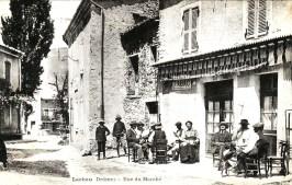 Le café Petit (café Truchet), rue du marché (actuelle rue du châteai)